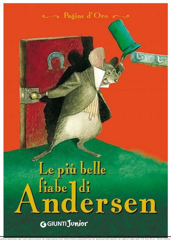 Andersen Hans Christian - Le piu belle fiabe di Andersen copertina