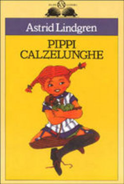 Astrid Lindgren Pippi Calzelunghe COPERTINA