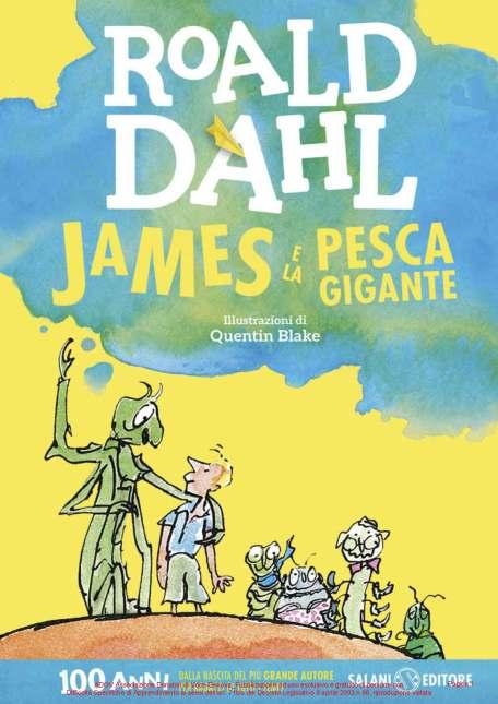 DAHL ROALD - JAMES E LA PESCA GIGANTE COPERTINA