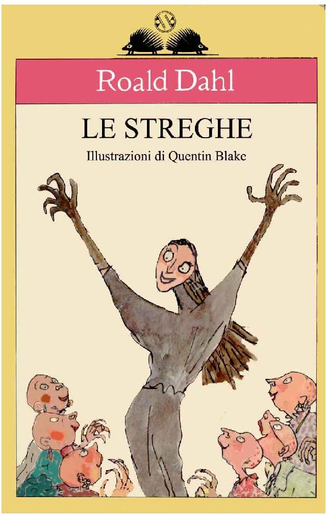 Roald Dahl - Le Streghe COPERTINA