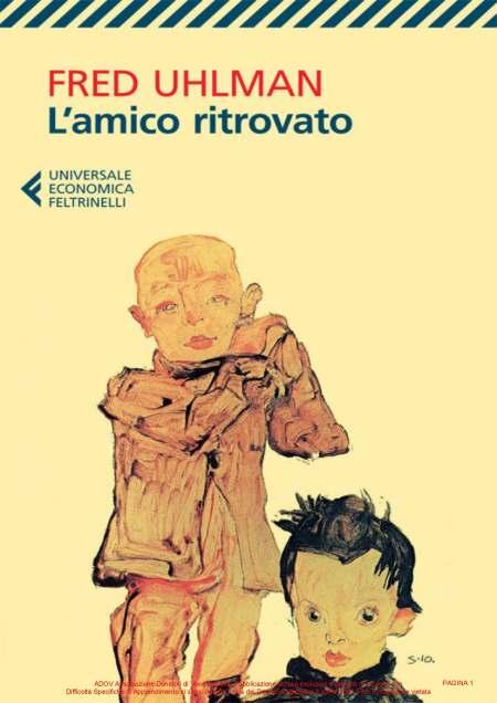UHLMAN FRED - L AMICO RITROVATO COPERTINA